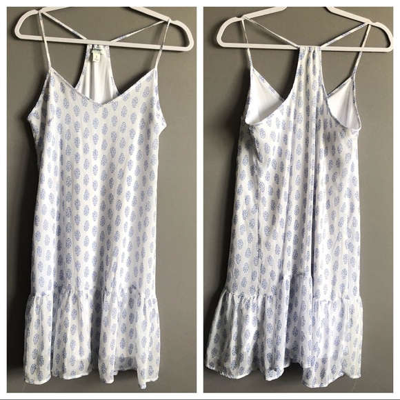 Old Navy Dresses & Skirts - Old Navy • Blue White Halter Top Dress
